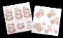 2 planches 3D prédécoupées Cupcake Boutique Bouquet gourmand