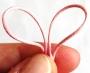 32 cm de cordon rose