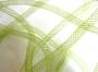 32 cm de fil tubulaire résille vert