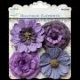 4 belles grosses fleurs Little Birdie Prune