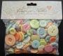 50 g de boutons pastels assortis