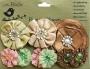 9 fleurs luxe Little Birdie Noisette Harmony