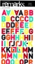 Alphabet American Crafts multicolore