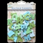 Alphabet Little Birdie Turquoise