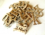 Alphabet chipboard Old Frontier Bois de Pin