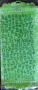Alphabet tissu Prima vert foncé
