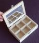 Boîte à bijoux avec miroir