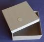 Boîte carrée carton à personnaliser