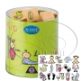 Boîte de 15 tampons thème bébé
