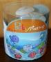 Boîte de tampons et encreur animaux marins Aladine