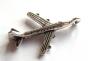 Breloque métal avion
