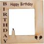 Cadre en cuir Happy Birthday