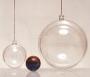 Petite boule transparente diamètre 4 cm