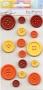 Carte 15 boutons couleurs chaudes