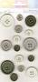 Carte 15 boutons gris