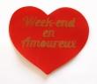 Coeur Week-end en amoureux