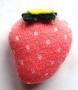Déco doudou petite fraise rose