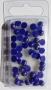 Demi-perles bleues nacrées Rayher