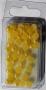 Demi-perles jaunes nacrées Rayher