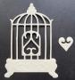 Die-cut grande cage embossée