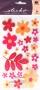 Fleurs pailletées Sticko