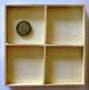 Fond bois 4 cases petit modèle