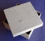 Grande boîte carrée carton à personnaliser