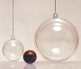 Grosse boule transparente diamètre 12 cm