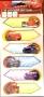 Maxi étiquettes 3D Disney Cars