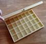 Maxi boîte en bois 28 compartiments