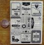 Maxi tampon bois Florilèges neuf étiquettes