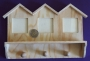 Patère en bois cadres maisons