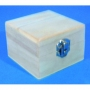 Petite boîte cube en bois