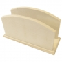 Porte-serviettes ou courrier en bois