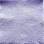 Serviette papier texturée parme