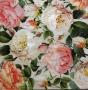 Serviette papier roses à foison