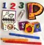 Stickers 3D école