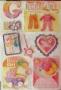 Stickers 3D bébé fille modèle 2