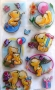 Stickers 3D oursons cadeaux
