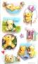 Stickers 3D oursons détente