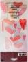 Stickers Vellum EK Success Coeurs roses