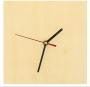 Support bois pr horloge carrée