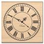 Tampon bois Florilèges Grande horloge