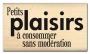 Tampon bois Florilèges Sans modération