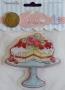 Tampon clear géant Cupcake Boutique gâteau