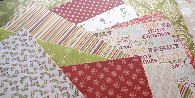 assortiment-papiers-30x30-dovecraft-back-to-basics-christmas-noel
