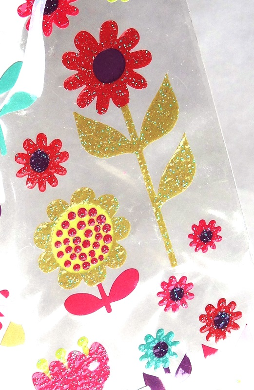 boutique scrapbooking elaia-stickers pailletes fleurs sticko