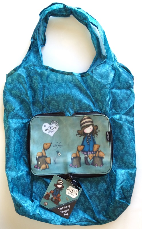 boutique scrap elaia sac pliable foxes gorjuss