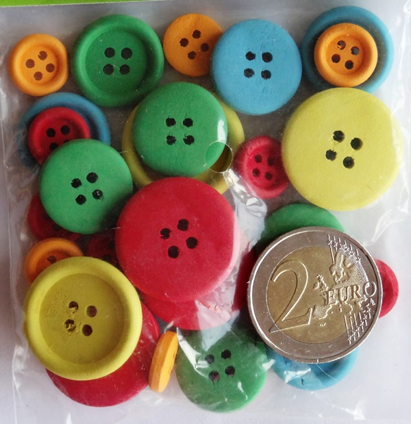 boutique scrapbooking elaia-boutons bois colores