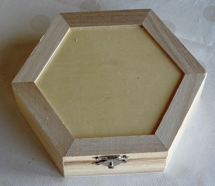 produits scrapbooking boutique elaia-support bois-boite a clefs avec miroir